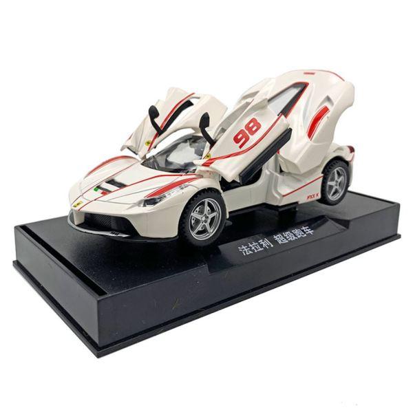 Mô hình xe ô tô kim toại Ferrari FXXK tỷ lệ 1:32