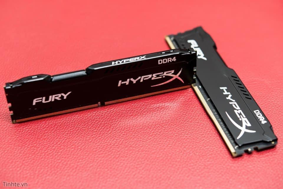 Ram DDR4 16GB Bus 2666 Kingston HyperX Fury hàng mới 100% bảo hành 36 tháng