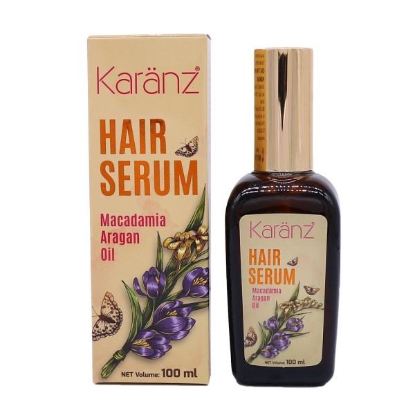 Serum cao cấp dưỡng tóc mềm mượt, giữ nếp tóc uốn Karanz Macadamia Argan Oil 100ml giá rẻ