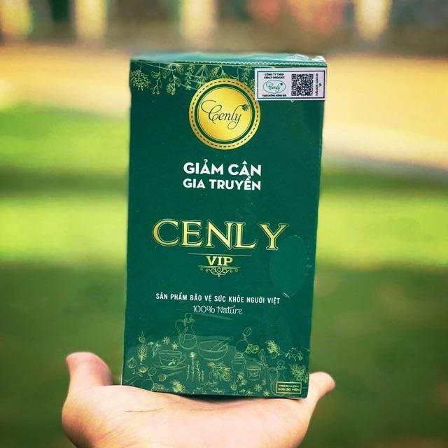 Giảm cân thảo mộc Cenly Vip 15 ngày nhập khẩu