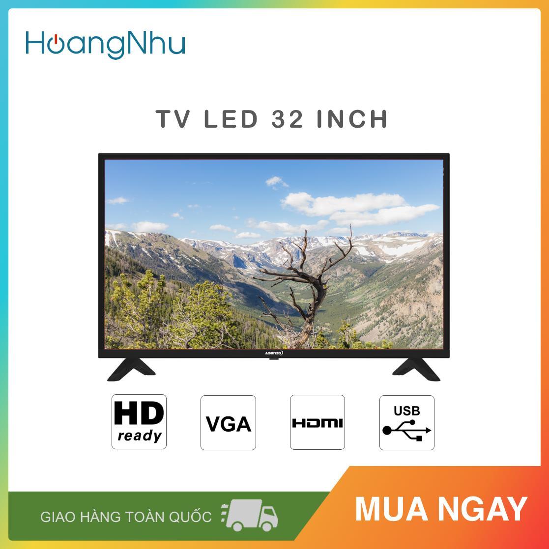 Bảng giá TV LED Asanzo 32 inch 32AH102 (TV Thường, HD Ready) - Bảo hành toàn quốc 2 năm