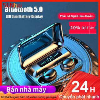 2020 Mới F9-5 HiFi Bluetooth 5.0 CVC 8.0 Âm Thanh Nổi Giảm Tiếng Ồn Không Dây TWS Tai Nghe Màn Hình LED thumbnail