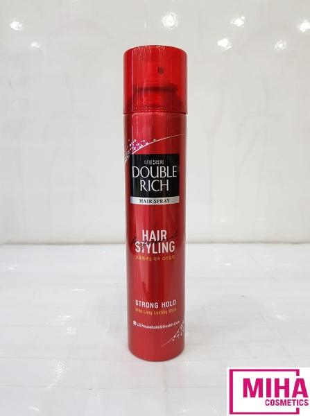 Keo Xịt Giữ Nếp Tóc Double Rich Hair Spray 170ml giá rẻ