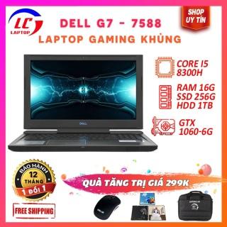 Laptop Chuyên Gaming, Laptop Chơi Game Chuyên Nghiệp Dell G7 7588, i5-8300H, VGA Nvidia GTX 1060-6G, Màn 15.6 FullHD IPS, Laptop Dell thumbnail