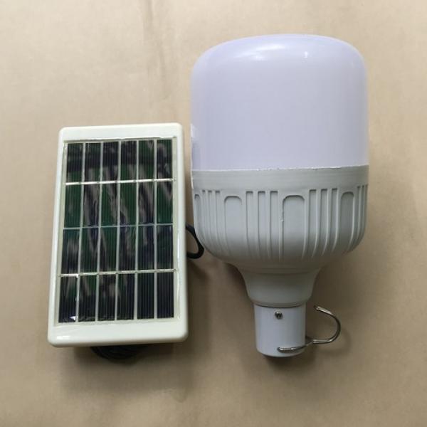 Bộ đèn led Trụ năng lượng mặt trời 15w sáng thắng