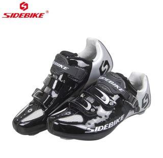 Giày cá Sidebike SD001 đế nhựa cứng dành cho xe đạp đường trường thumbnail