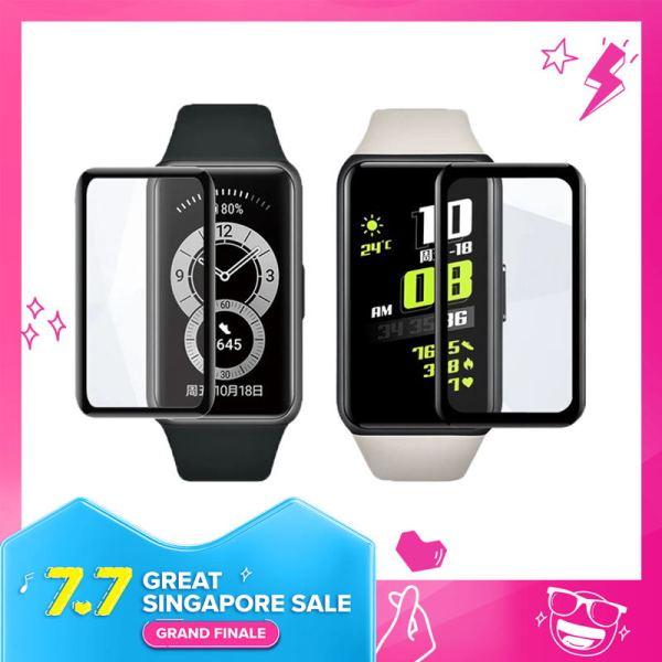 TIVIY Cường Lực 3d Bảo Vệ Màn Hình Cho Huawei Band 6/ Watch Fit / Smart Watch ES