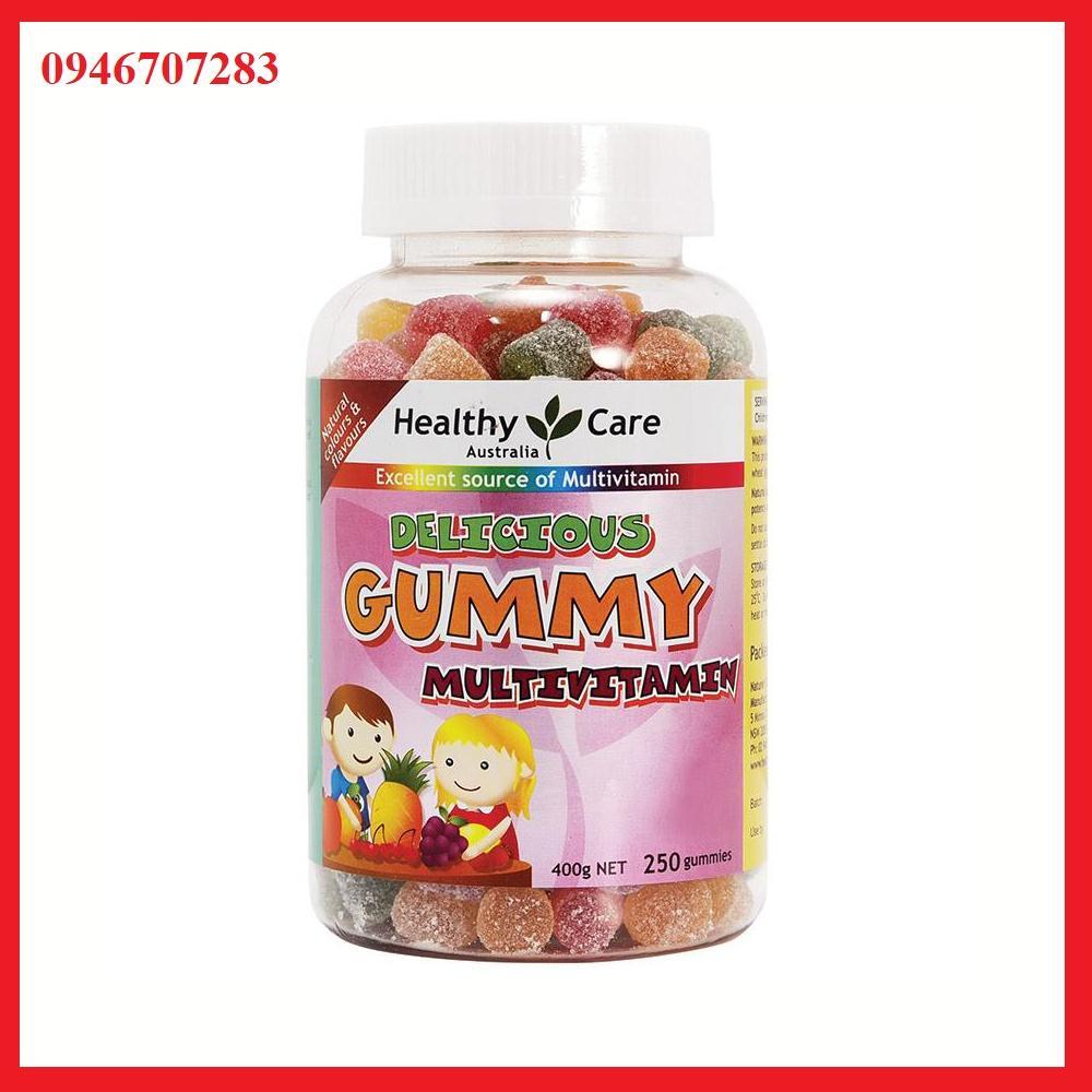 Kẹo Gummy vitamin tổng hợp Heathy care 250 viên