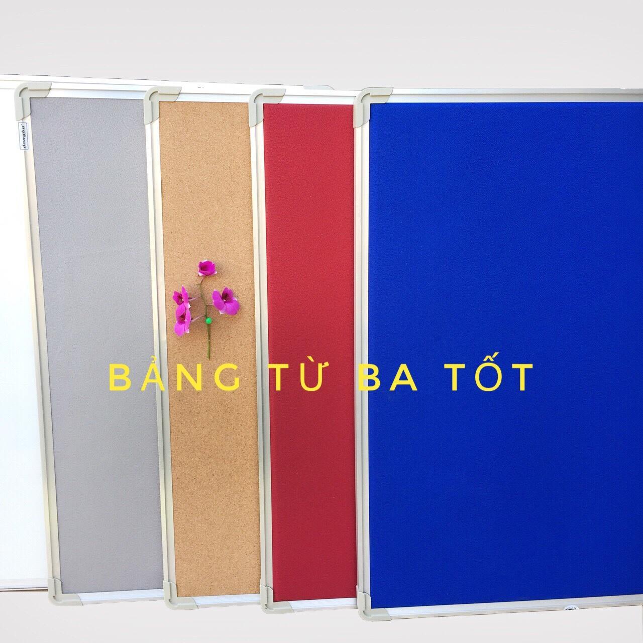 Mua Bảng ghim nỉ xanh dương 60x80 cm Tặng kèm Ghim ngũ sắc