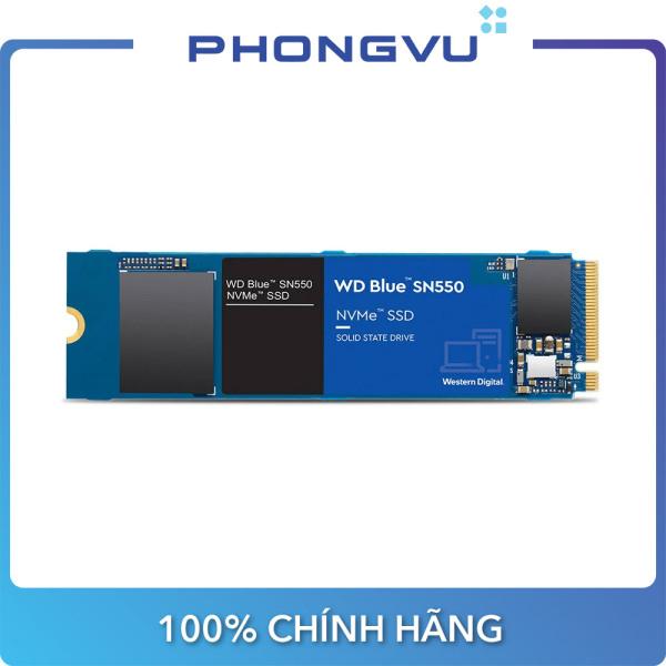 Bảng giá Ổ cứng SSD WD Blue SN550 250GB M.2 2280 NVMe Gen3 x4 (WDS250G2B0C) - Bảo hành 5 năm Phong Vũ