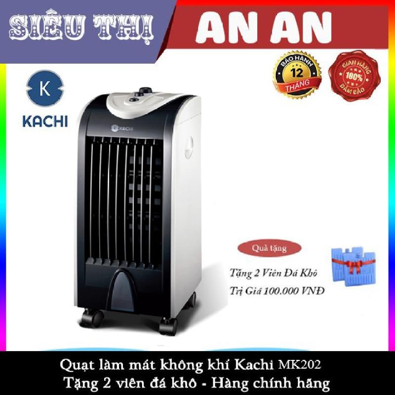 Quạt Hơi Nước làm mát, quạt lạnh KACHI -MK-202-75w-Kèm 2 Viên Đá khô-bảo hành 12 tháng model 2020