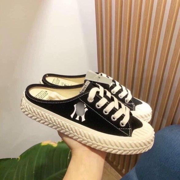 Giày sục vải thêu NYY chất đẹp Mixteen Store giá rẻ