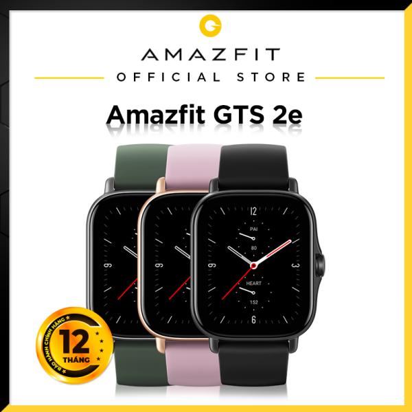 Đồng hồ thông minh cao cấp Amazfit GTS 2e - 90 chế độ thể thao - Đo Nồng Độ SPO2 - Pin 7-14 ngày - Bảo hành chính hãng 12 tháng