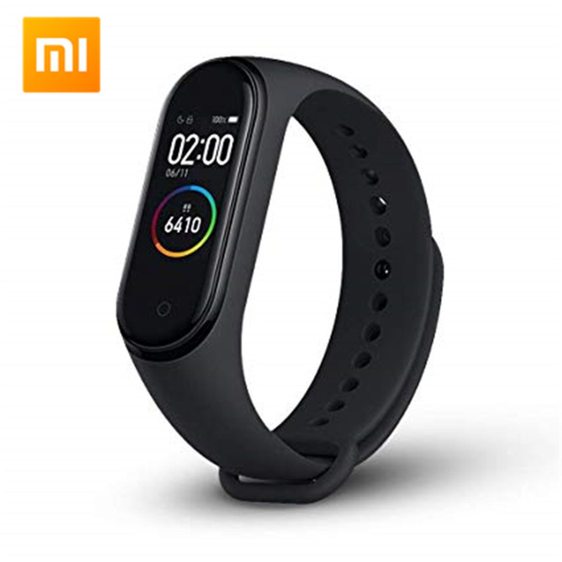 Global Version Xiaomi Mi Band 4 Ready In Stock Smart Bracelet AMOLED Screen Miband 4 Fitness Traker Wristband Bluetooth Sport Waterproof Smart Band Giá Tốt Không Nên Bỏ Lỡ