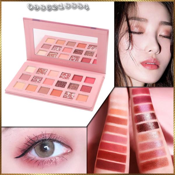 Bảng phấn mắt Caiji NUDE Eye 18 Colors Eye Shadow CNE8 giá rẻ