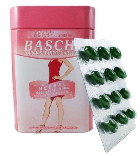 5 hộp giảm cân thảo dược Baschi hồng Thái Lan 40 viên