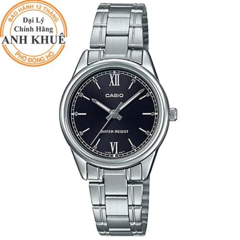 Đồng hồ nữ dây kim loại Casio Anh Khuê LTP-V005D-1B2UDF