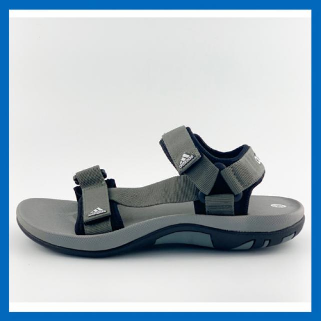 Giày Sandal Nam Quai Ngang ADIDAS ( Đen Xám) giá rẻ