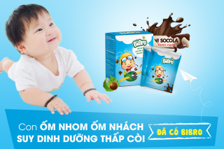 [Bộ 2 Hộp] Cốm tiêu hóa BIBRO hỗ trợ tiêu hóa, giúp bé ăn ngon miệng, hấp thu tốt, mau lớn và khỏe mạnh - Khánh Linh Pharma thumbnail