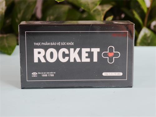 Thực phẩm chức năng Rocket + cải thiện sinh lý nam (45 viên/hộp) nhập khẩu