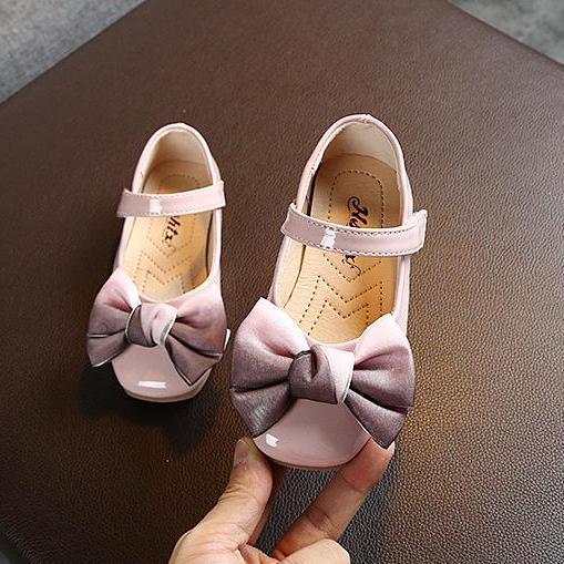 Giày Búp Bê Bé Gái Size 21-35 Da Bóng Giá Tốt Không Thể Bỏ Qua