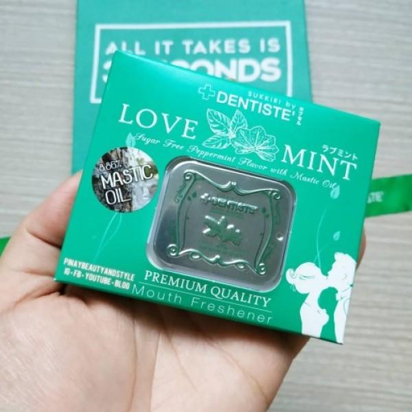Kẹo lovemint bạc hà chuẩn cao cấp