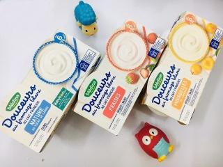 Sữa chua phô mai Bledina cho bé ( 4 hộpx95g) thumbnail