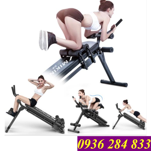 Bảng giá Ghế máy tập cơ bụng lưng tay ngực eo hông đa năng 4.0 Elip AB Gym - Thế hệ ghế máy tập cơ bụng tiên tiến - Bảo hành 12 tháng