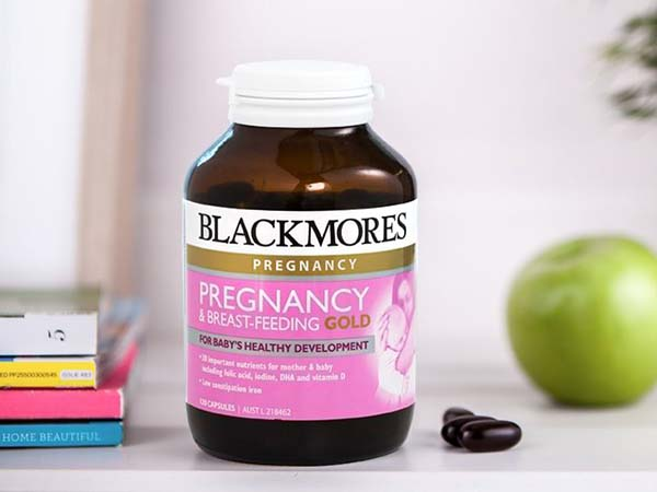 Viên sắt  bầu Blackmores Pregnancy -MoonShop Hàng Úc Nội Địa