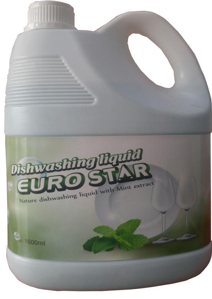 Nước Rửa Chén EuroStar Hương Bạc Hà 1.6L