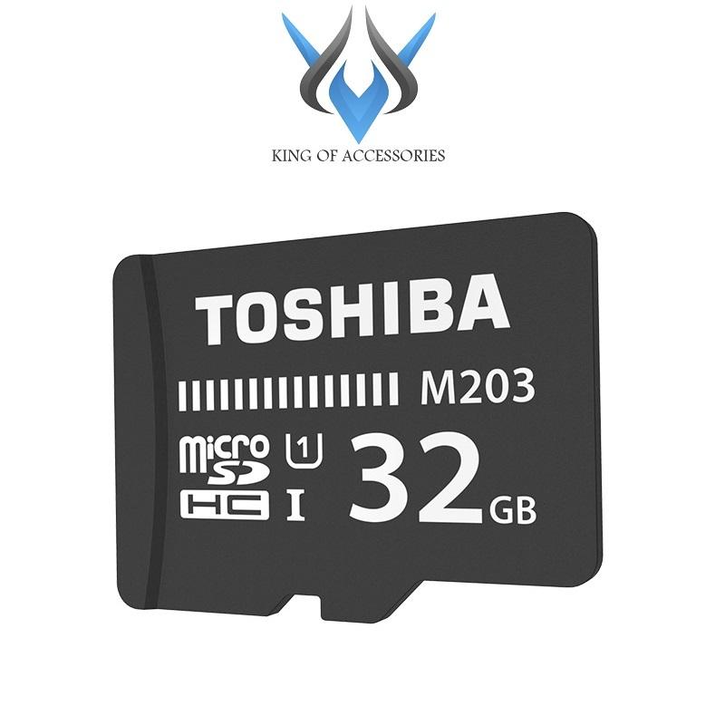 Thẻ nhớ MicroSDHC Toshiba M203 UHS-I U1 32GB 100MB/s (Đen) - Không Box