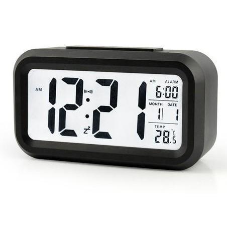 Nơi bán (Tặng Pin) Đồng Hồ Để Bàn led - Đồng hồ báo thức kiêm nhiệt kế. Đồng Hồ Điện Tử - VNY DH011