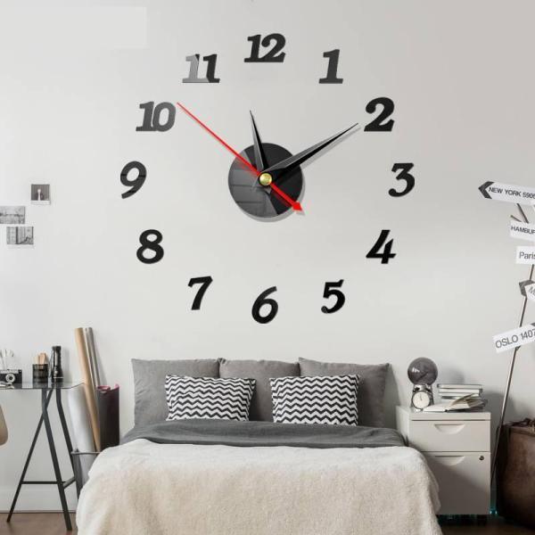 Nơi bán 10 mẫu Đồng hồ dán tường DIY - Đồng hồ treo tường - 40cm - DH56
