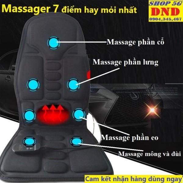(Bảo hành 3 năm) Nệm (Đệm) 9 bi 5 motor massager toàn thân HANLN - Ghế Mát Xa Đa Năng Toàn Thân giảm stress, lưu thông khí huyết, giảm đau nhức toàn cơ thể, điều tiết cơ thể
