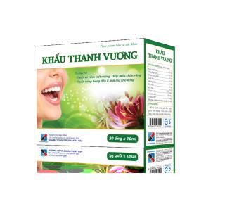 Khẩu Thanh Vương-Hỗ trợ thanh nhiệt giải độc, hỗ trợ giảm loét miệng, chảy máu chân răng, chảy máu cam do nóng trong thumbnail