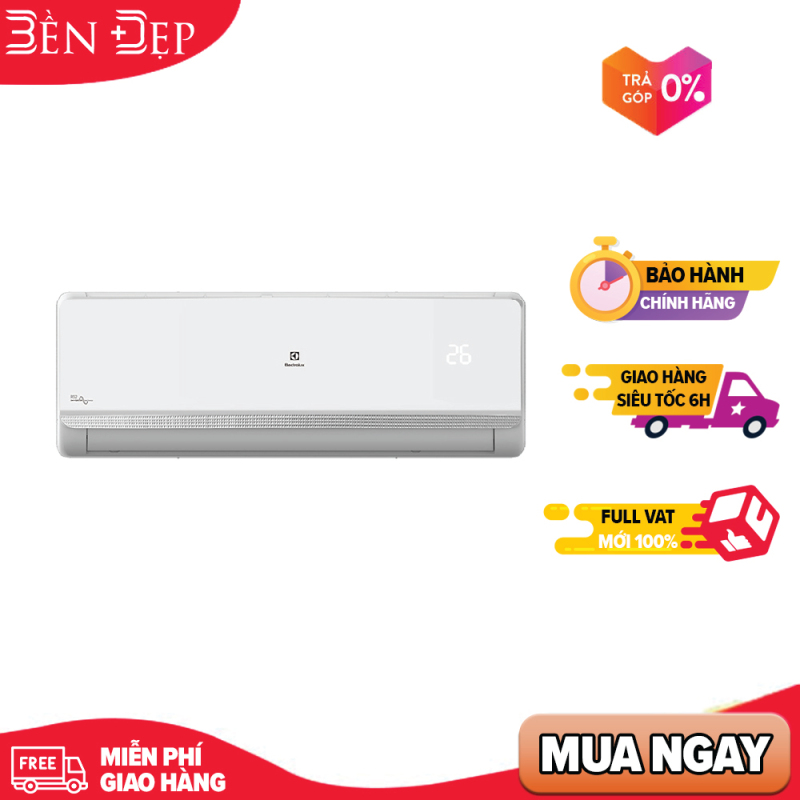 Bảng giá [Nhập ELMAY21 giảm 10% tối đa 200k đơn từ 99k]Máy Lạnh Inverter Electrolux ESV12CRR-C3 (1.5HP) - Hàng chính hãng