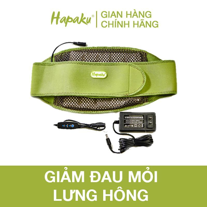 Túi chườm thảo dược lưng, bụng Hapaku - làm nóng bằng điện