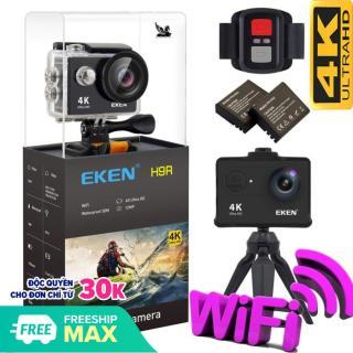 [ Version 8.0 nâng cấp lên 20MP] Camera hành trình 4K wifi Eken H9R (có remot) chất lượng 4K 30Fps, chụ ảnh 20Mp. Kết Nối Wifi Cao Cấp Tiện Lợi- BẢO HÀNH 1 ĐỔI 1 12 THÁNG thumbnail