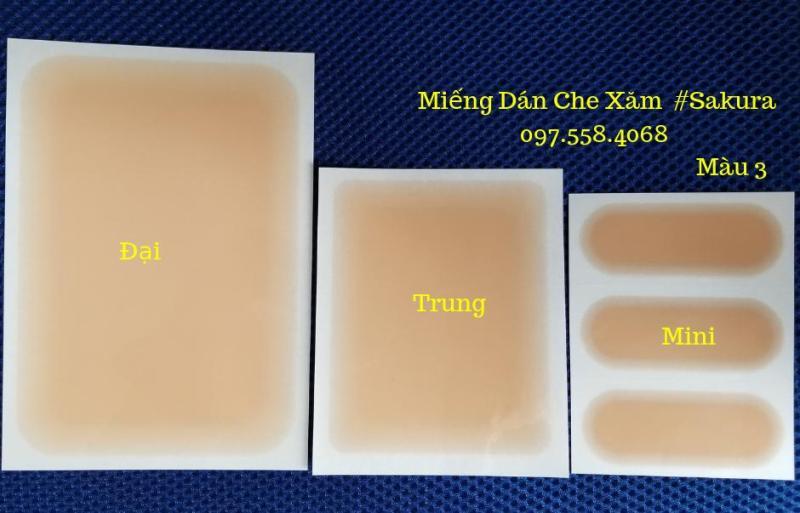Miếng Dán Che Hình Xăm Size Trung - Set 2 Miếng