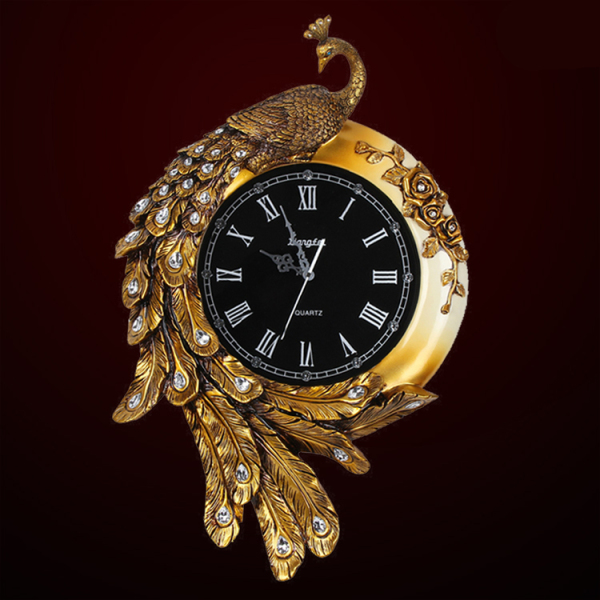Đồng hồ treo tường con chim công A66 bán chạy