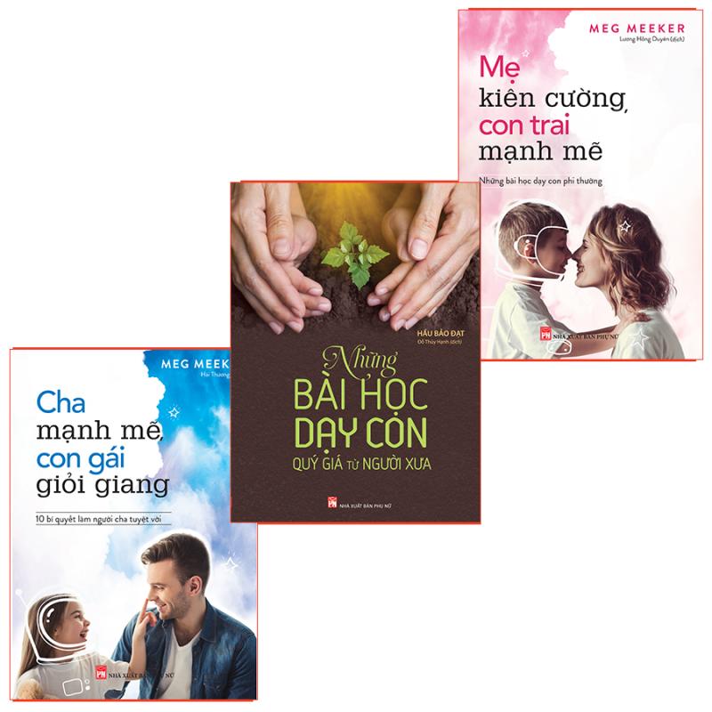 Sách: Combo  Những Bài Học Dạy Con Phi Thường Dành Cho Cha Mẹ
