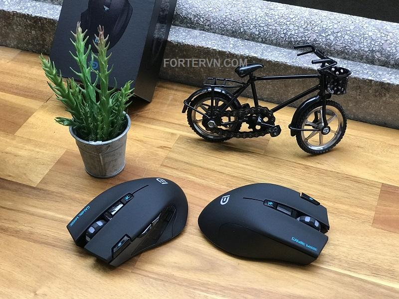Chuột Gaming Forter i750 - Không dây - Tắt tiếng
