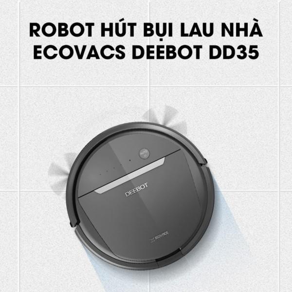 Robot hút bụi lau nha Ecovacs DD35