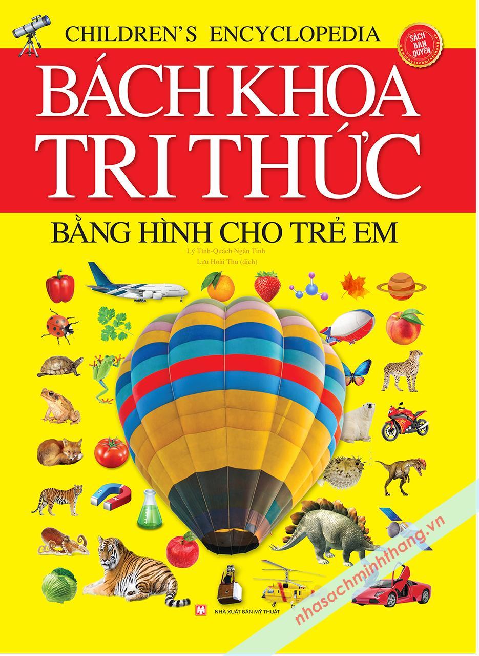 Mua [ Sách Thật ] Sách Bách Khoa Tri Thức Bằng Hình Cho Trẻ Em (Bìa Cứng) chất lượng cao