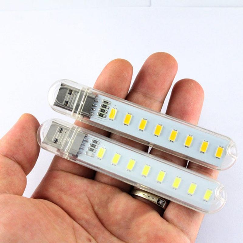 Bảng giá COMBO 2 Đèn Led USB 8 Bóng  Sáng CHUẨN Phong Vũ