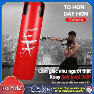 Bao cát boxing đấm bốc hiệu JINGPAI tập quyền đạo, bao cát dạng treo tập gym đấm bốc kiểu Thái dụng cụ tập gym tại nhà Tops Market thumbnail