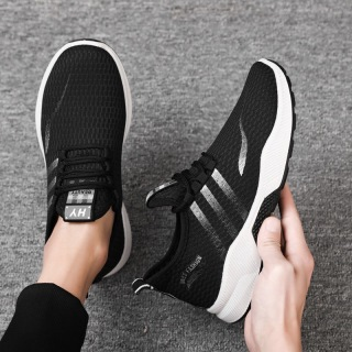 Men s shoes, casual sports shoes, Korean version of the trend, all-match running shoes, lightweight and wear-resistant thumbnail