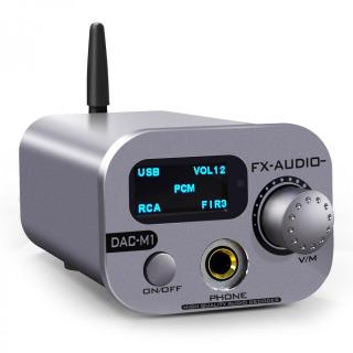 Bộ Giải Mã Âm Thanh FX-Audio DAC-M1 DAC ES9038Q2M XMOS 32bit 768kHz DS512 Bluetooth 5.0 thumbnail