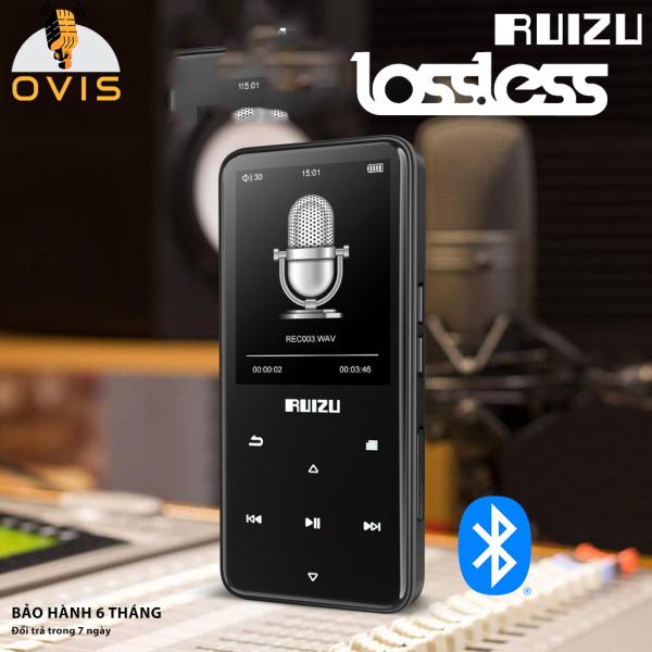[BH 1 ĐỔI 1] Máy Nghe Nhạc Bluetooth Ruizu D10 Xem Video, Phím Cảm Ứng, Tặng Tai Nghe (8GB)