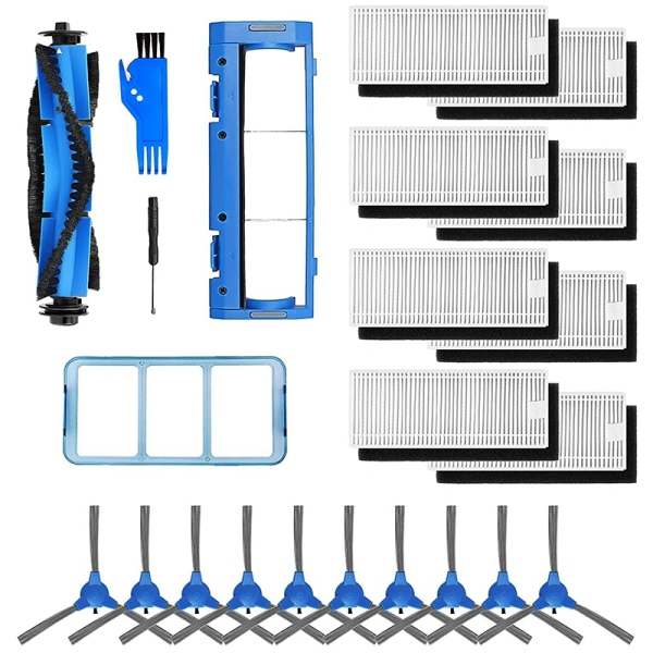 22-Pack Replacement Parts Accessories Kit Compatible with Eufy RoboVac 11S 12 30C 15T 15C 35C Robotic Vacuum Cleaner